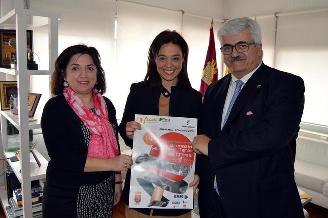 Imagen: Ciudad Real acoge el 14º Campeonato Regional de Gimnasia Rítmica y Tenis de Mesa de FECAM
