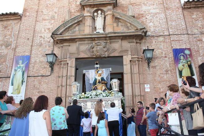 Imagen: La Hermandad de la Virgen de las Angustias de La Solana finalizó los actos del 75 aniversario