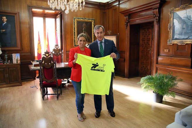 Respaldo del Gobierno local de Toledo a la V Carrera Solidaria de la Fundación Caja Rural Castilla-La Mancha – Tello