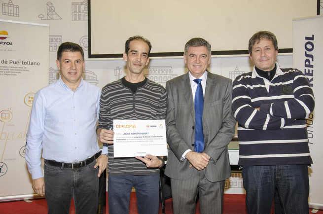 Fundación Repsol y el Complejo Industrial de Puertollano entregan las becas de FP
