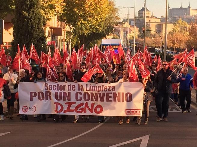 Imagen: Las patronales de la Limpieza rompen la negociación de los convenios de 13.000 trabajadores y trabajadoras de CLM