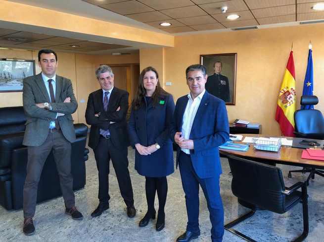 Reunión de seguimiento de los trabajos para la gestión de las avenidas en el municipio toledano de Cebolla