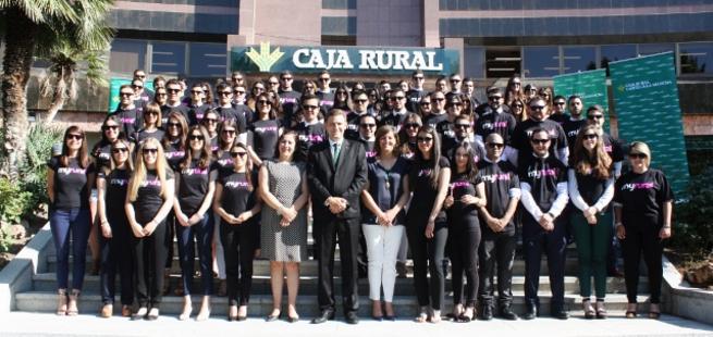 Imagen: 103 universitarios comienzan sus prácticas en Caja Rural CLM