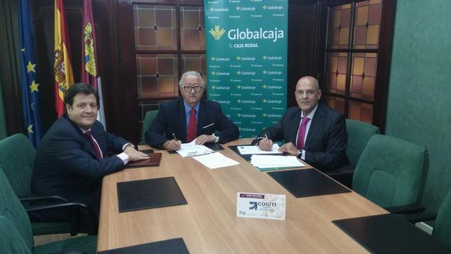 Imagen: Convenio de Globalcaja con el Colegio de Graduados e Ingenieros Técnicos Industriales de Ciudad Real