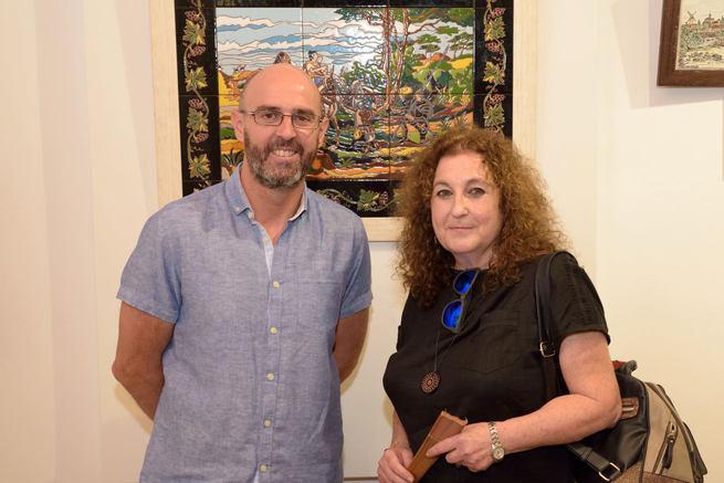 Cervantes, sus personajes y La Mancha en las cerámicas de Mª. Luisa Lanzarote