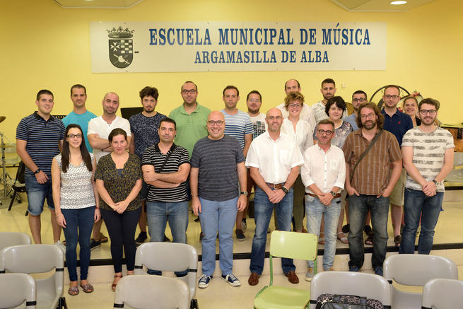 Dieciocho alumnos de cuatro nacionalidades participan en el XIV Curso de Dirección de Bandas de Música de Argamasilla de Alba