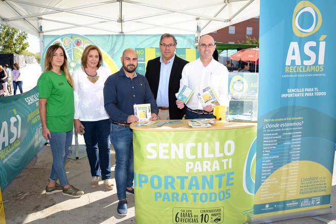 Segunda campaña informativa sobre reciclaje en mercadillos y espacios públicos de Comsermancha