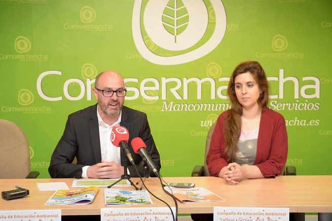 La campaña escolar de reciclaje en inglés de Comsermancha llegará a más de 5.000 escolares