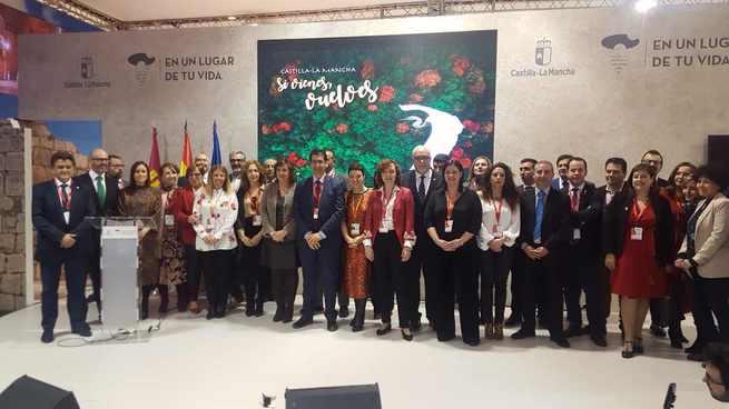 La Cámara de Comercio muestra su apoyo al sector turístico durante el día de Ciudad Real en Fitur 2019