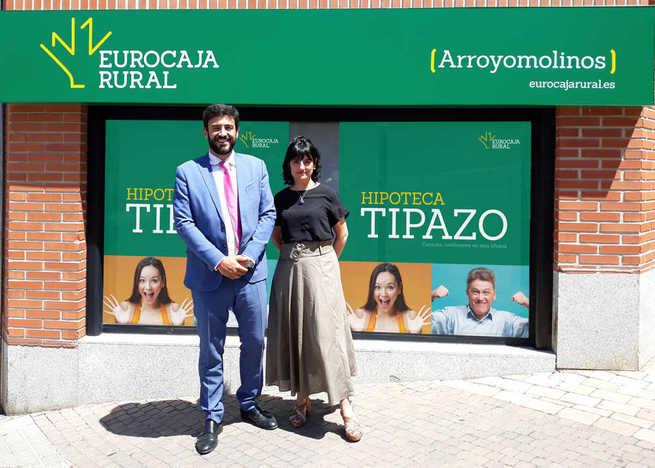 Eurocaja Ruralabrenueva oficina en Arroyomolinos y suma ya 40 en la Comunidad de Madrid
