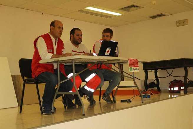 9 Personas atendidas por Cruz Roja Española durante los encierros taurinos de Almodóvar del Campo
