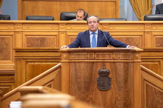 El Gobierno regional solicita a los grupos parlamentarios hablar de lo positivo de Castilla-La Mancha para contribuir a su progreso