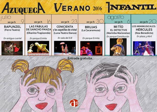 Imagen: Comienza el ciclo de teatro familiar de verano en Azuqueca