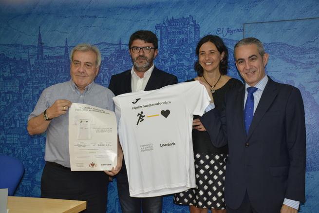 Toledo acogerá el 4 de septiembre la V Carrera Fundación Fernando Alonso-Liberbank para sensibilizar sobre seguridad vial