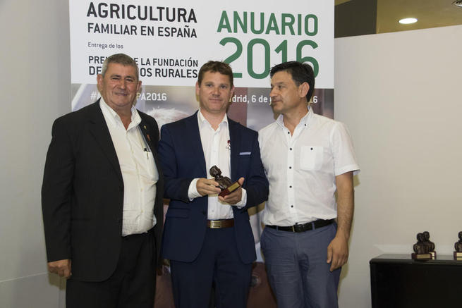 Imagen: Andrés Iniesta recibe el premio Orgullo Rural 2016