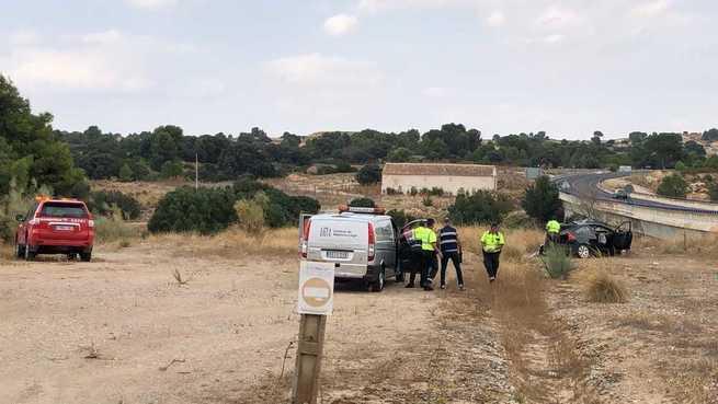 Una mujer fallecida por alcance entre un camión y un turismo en la localidad de Albacete de Motilleja