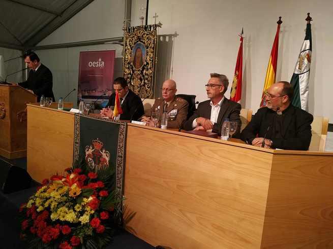 """Jesús Martín: """"Estamos en el hermanamiento entre la sociedad civil y las Fuerzas Armadas"""""""
