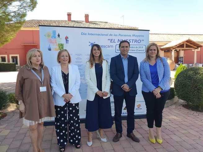 El Gobierno de Castilla-La Mancha reconoce la importancia del asociacionismo en el VII Encuentro Regional de Personas Mayores