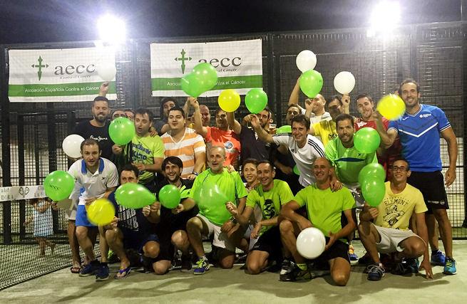 Este fin de semana vuelve la competición de pádel solidario a favor de la Asociación Española contra el Cáncer de Almodóvar del Campo