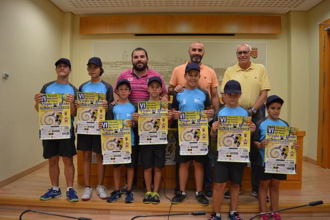 """Imagen: Álvarez """"El torneo de tenis Virgen del Prado es referente regional y congrega a los tenistas más importantes de España"""""""