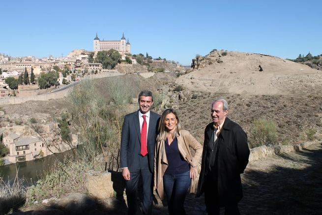 """Imagen: Gutiérrez: """"La extraordinaria labor del Consorcio Toledo merece la colaboración de la Diputación"""""""