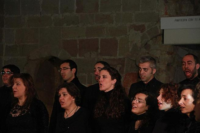 Imagen: El Grupo Vocal Kromátika presenta este domingo su primer trabajo discográfico, 'breath'