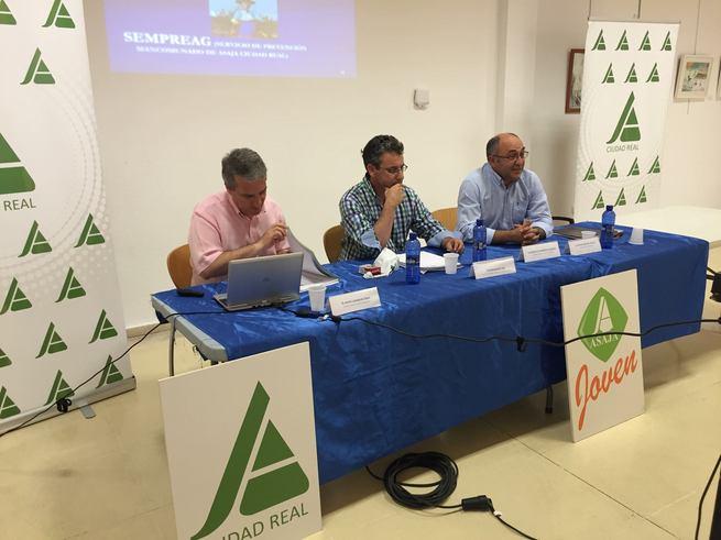 ASAJA Ciudad Real apuesta por la prevención de riesgos laborales en el sector agrario y ganadero