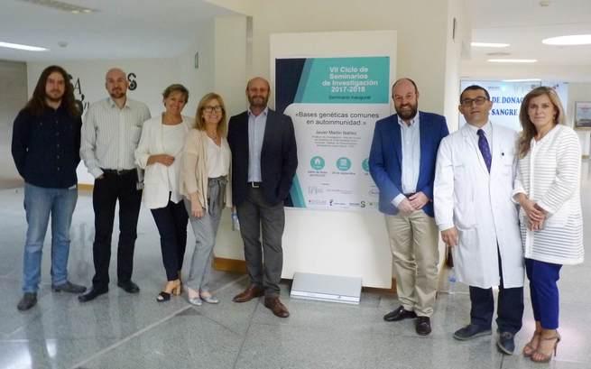 Una charla sobre bases genéticas en enfermedades autoinmunes abre  el ciclo de seminarios de investigación en el Hospital de Ciudad Real