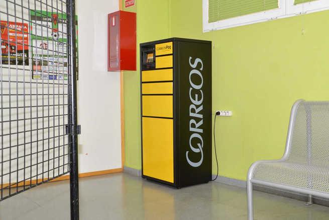 Instalados los buzones 'CityPaq' de Correos para recoger paquetes en El Foro, la Casa de la Cultura y el EJE de Azuqueca