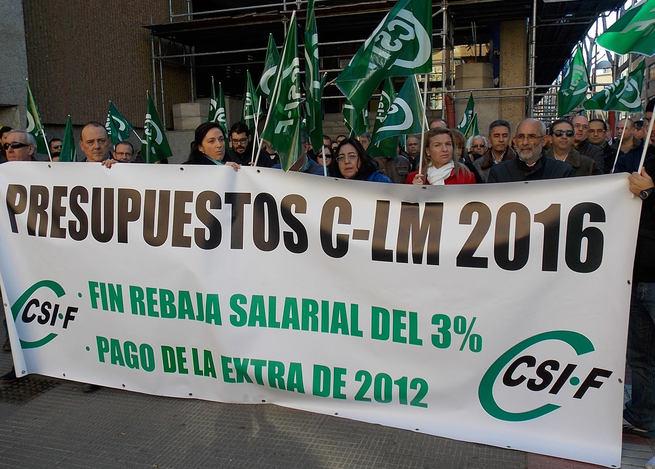 Castilla La Mancha novena autonomía por número de empleados públicos