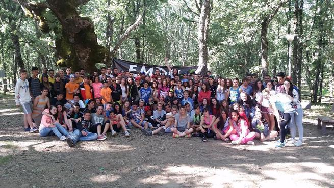"""Imagen: """"Empu-G"""" Manzanares cerró el curso con un campamento de verano"""