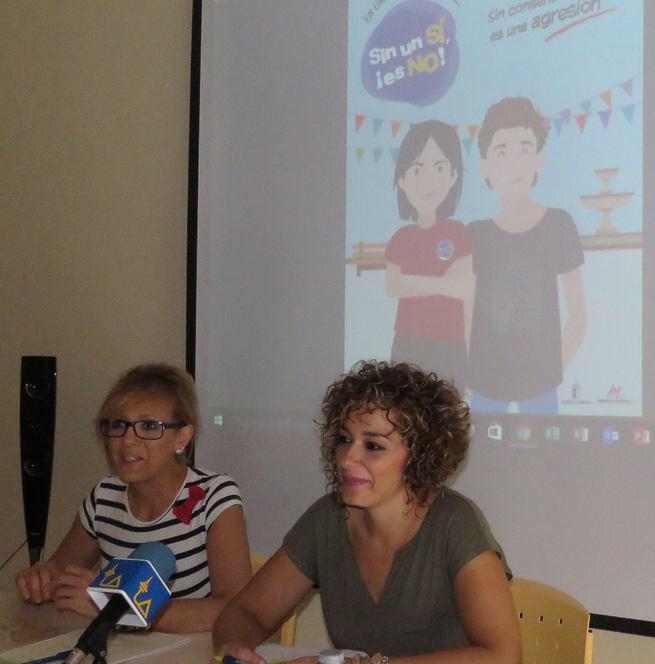 """Beatriz Labián presenta la campaña """"Sin un Sí, es un NO"""", para prevenir a la juventud de las """"violaciones en cita"""""""