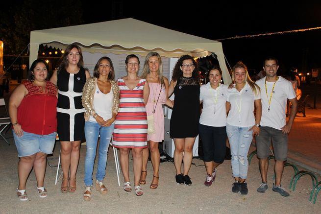 Torrijos acoge con éxito el inicio en la provincia de la campaña contra la violación en cita