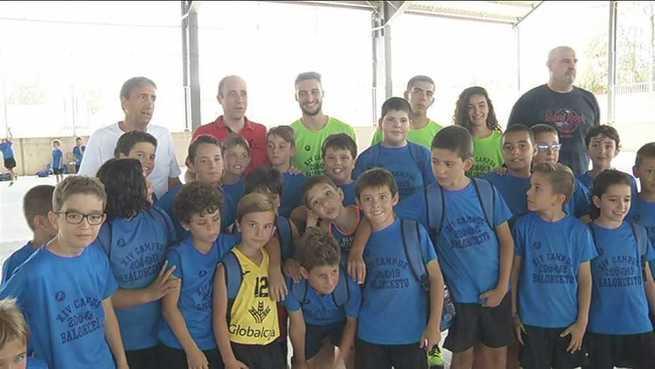 Los campus deportivos de Ciudad Real reciben la visita de Emilio Pérez Pizarro y de Luis Casimiro