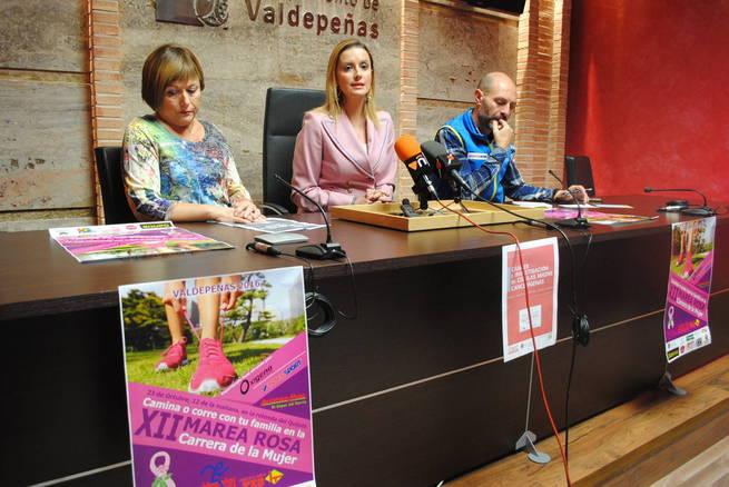 Valdepeñas se prepara para conmemorar el Día Internacional Contra el Cáncer de Mama