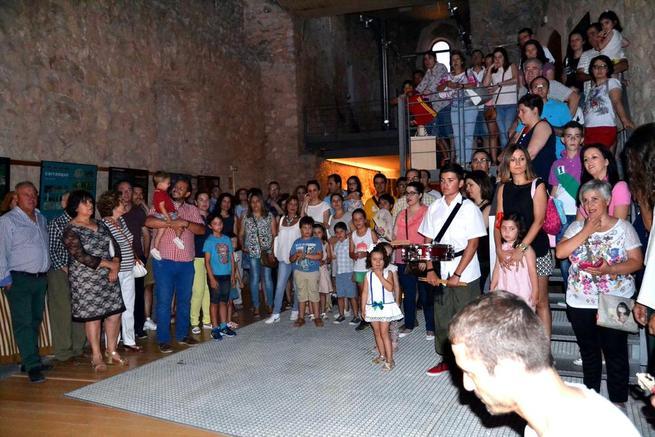 Imagen: Nuevo éxito de la Noche de Leyenda de Calatrava La Vieja, que reunió a unas 400 personas este fin de semana