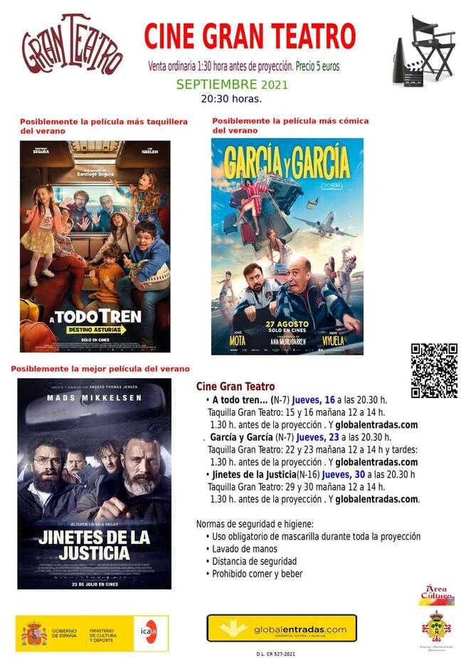 Cine, literatura, folclore y teatro los próximos días en Manzanares