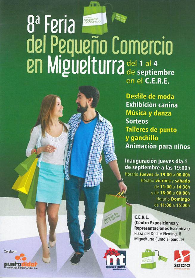 Llega una nueva edición de la Feria del Pequeño Comercio de Miguelturra
