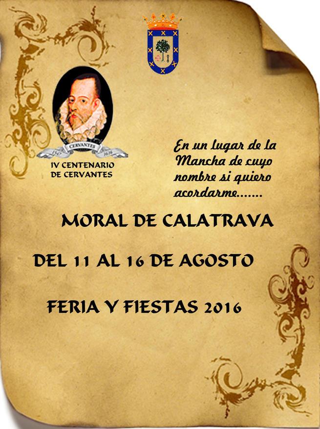 Moral de Calatrava ha programado más de medio centenar de actividades para la Feria y Fiestas 2016