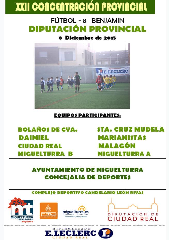 Imagen: Miguelturra celebrará su tradicional concentración provincial de fútbol 8