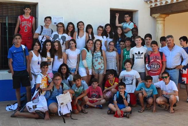 Imagen: Balance muy positivo del primer campamento de inmersión lingüística en Miguel Esteban