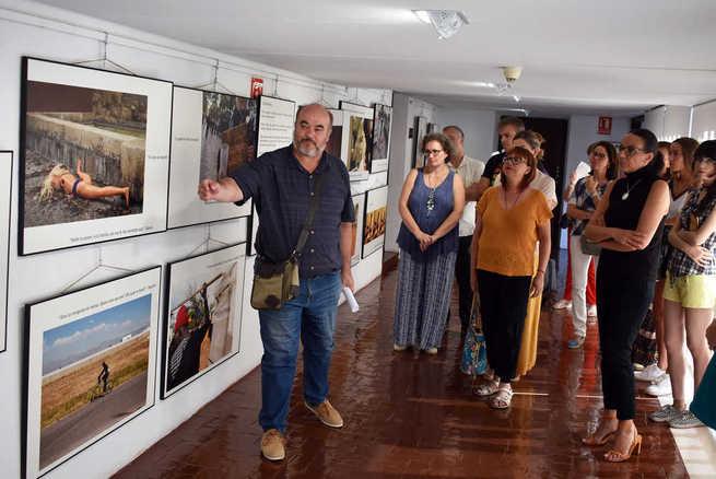 """Clausurada en Ciudad Real la exposición """"Punto y seguimos.  La vida puede más"""" sobre la trata de seres humanos"""