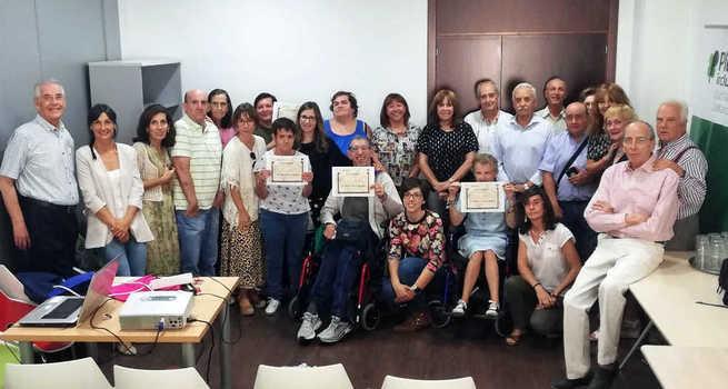 Mayores con y sin discapacidad se dan la mano en el Proyecto Intercapacidades de Ciudad Real