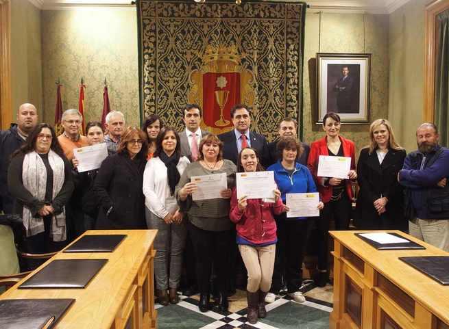 Clausurado en Cuenca el Taller de Empleo para el mantenimiento de edificios municipales desarrollado por el Ayuntamiento y la Junta