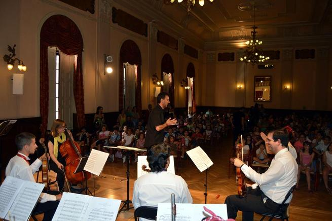 """Imagen:  Arranca con música """"de cine"""" las actividades de Verano de las Bibliotecas Municipales de Ciudad Real"""