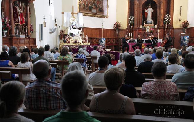 Éxito del concierto de 'Alcarria String Quartet' en Uclés, con el apoyo de la Fundación Globalcaja Cuenca