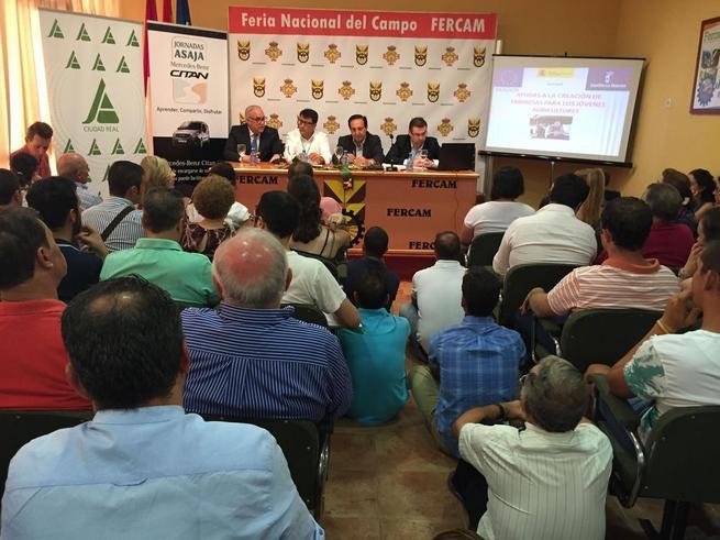 Imagen: Pedro Barato pide que se simplifique la tramitación de las ayudas de incorporación de jóvenes agricultores