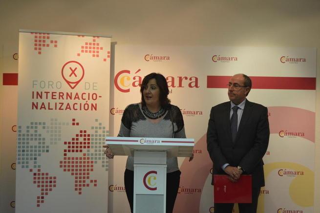 Imagen: Patricia Franco anuncia la puesta en marcha el próximo año del Plan de Internacionalización de Castilla-La Mancha 2016-2020