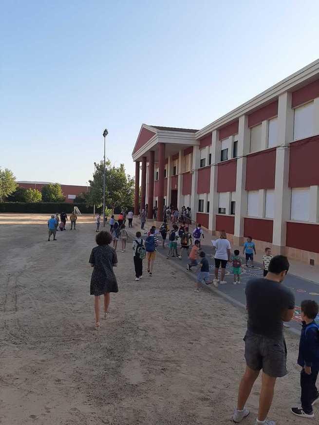 El curso escolar 2019/2020 arranca con total normalidad en Porzuna