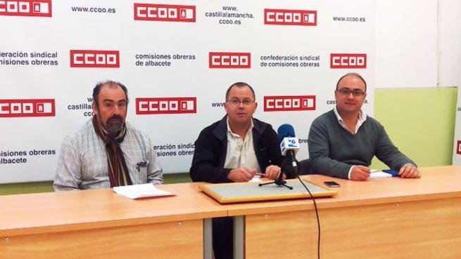 Imagen: CCOO emplaza a Geacam a recuperar los 700 puestos de trabajo destruidos y los recortes salariales impuestos en la etapa Cospedal